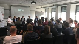 Podiumsdiskussion beim Mainframe-Talk